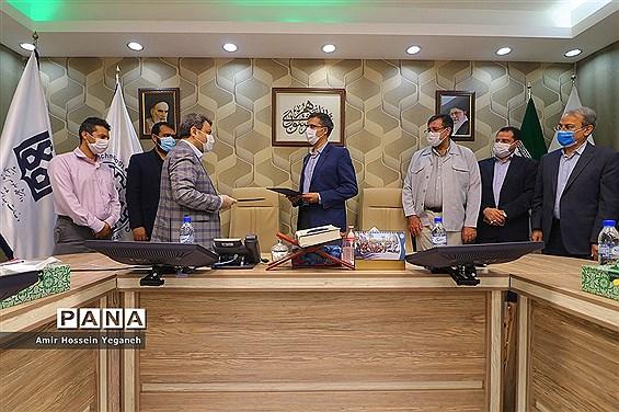 امضای تفاهم نامه همکاری دانشگاه صنعتی شریف و دانشگاه تهران در جزیره کیش