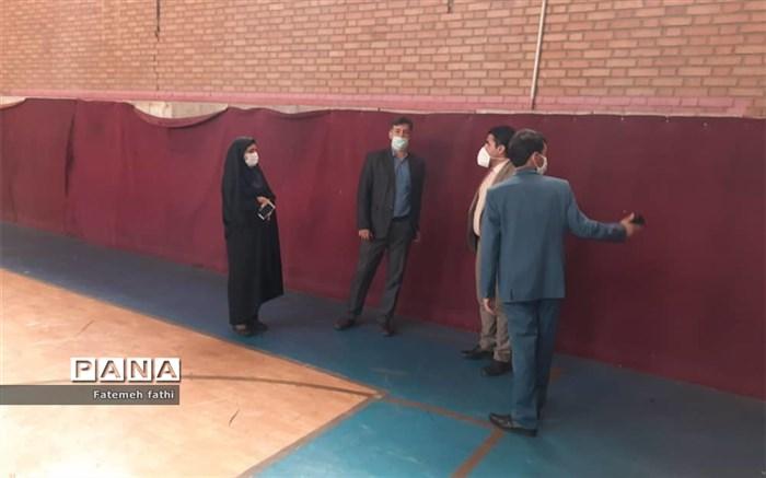 بازدید از فضاهای ورزشی چهاردانگه