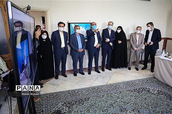 بازدید علیرضا کاظمی از سیوهشتمین دوره مسابقات فرهنگی هنری