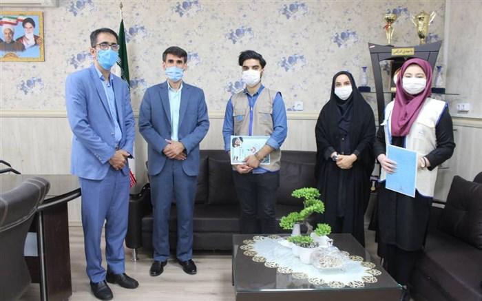 نشست خبرنگاران پانا با مسئولان آموزش و پرورش چهاردانگه