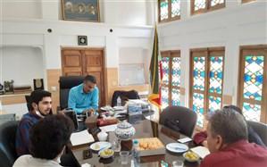 بازدید کمیته کودک و نوجوان از سازمان دانش آموزی استان یزد