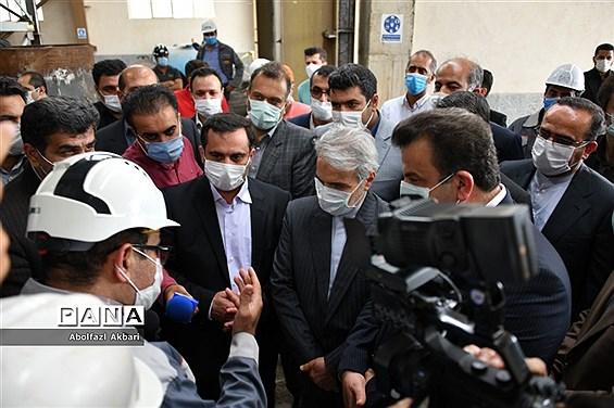 روز نخست سفر رئیس سازمان برنامه و بودجه به مازندران