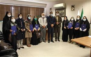 تجلیل از برگزیدگان جشنوارههای سازمان دانشآموزی فارس در سال تحصیلی گذشته