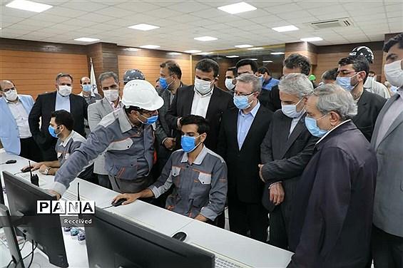 حضور رییس سازمان برنامه و بودجه در غرب مازندران در روز دوم سفر