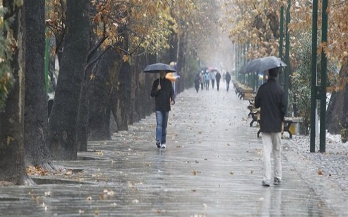 بارش باران، وزش باد و کاهش دما از عصر و امشب در گیلان