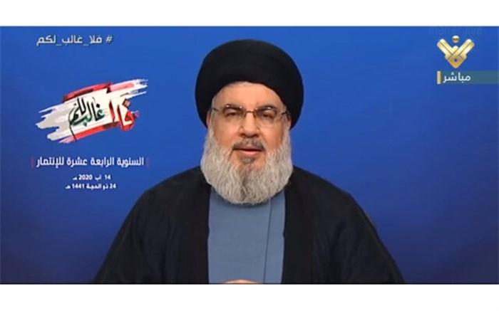سید حسن نصرالله: جنگ ۳۳ روزه علیه لبنان بخشی از طرح خاورمیانه جدید بود