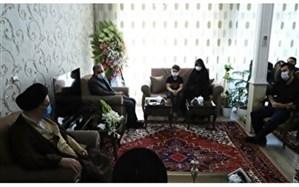 دیدار امام جمعه تبریز با خانواده اهدا کننده عضو