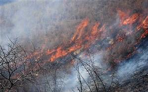 تالاب میانکاله همچنان در آتش میسوزد