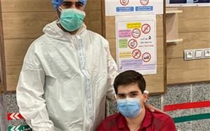 بیمار کرونایی بستری در ICU بیمارستان سوانح سوختگی شهرستان گناوه ترخیص شد