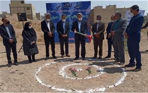 کلنگ احداث اولین مدرسه مستقل اتیسم استان سمنان به زمین زده شد