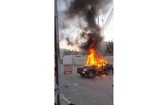 درگیری بین معترضان و نیروهای امنیتی در استان بصره در جنوب عراق