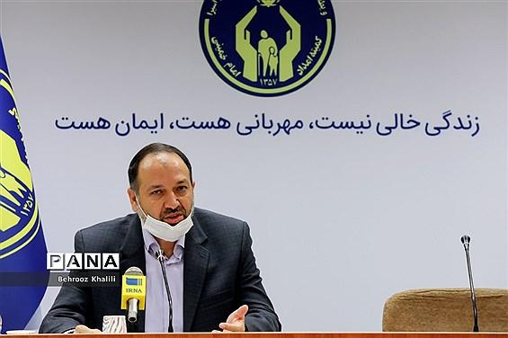 نشست خبری معاون حقوقی و امور مجلس کمیته امداد