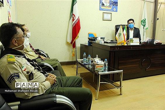 نشست هماندیشی مدیرسازمان دانشآموزی خوزستان با مربیان پیشکسوت تشکیلاتی