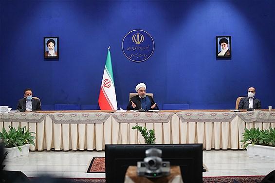نشست مدیران ارشد رسانه ملی با رئیس جمهوری