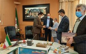 مراسم تودیع و معارفه رئیس سازمان دانش آموزی ناحیه یک شیراز