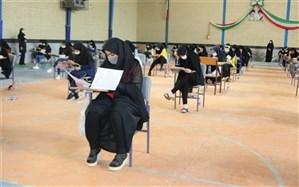 رقابت 1 هزار و 549 داوطلب کنکور سراسری 99 در دشتی آغاز شد