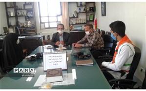 گفت و گوی خبرنگاران پانا با رییس سازمان دانش آموزی استان