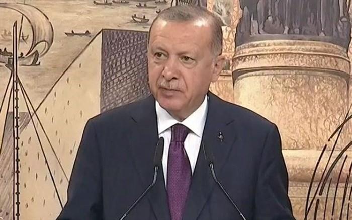اردوغان: بزرگترین منبع گازی تاریخ ترکیه در دریای سیاه کشف شد+ عکس