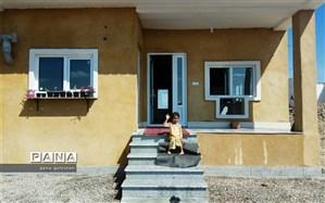 برپایی جشن پایان ساخت خانه برای سیل زدگان گلستان