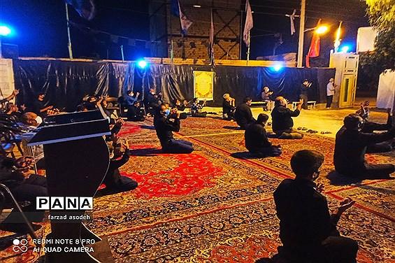 برگزاری  مراسم عزاداری  شب های ماه محرم درروستای فروتقه کاشمر