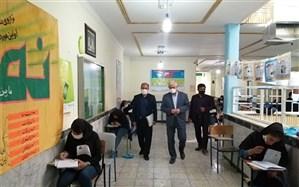 مدیرکل آموزش و پرورش کهگیلویه وبویراحمد از حوزه های برگزاری  کنکور بازدید کردند