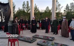 مراسم اختتامیه دوخت ماسک جهاد محور در دانشگاه آزاد کاشمر