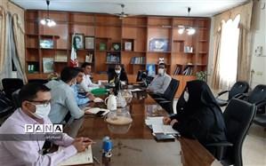 تشکیل دومین جلسه کارگروه های هفت گانه پروژه ی مهر سال تحصیلی1400-1399 در شادگان