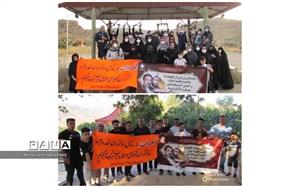 برگزاری همایش ورزش در طبیعت به مناسبت هفته دولت در شهرستان نی ریز