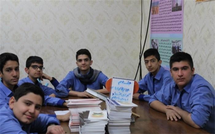برترین شورای دانش اموزی ناحیه یک یزد