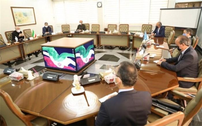 گروسی با رئیس سازمان انرژی اتمی دیدار کرد
