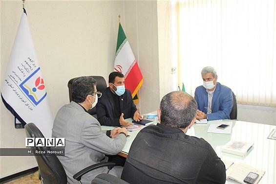 نشست شورای هماهنگی تشکل های  دانش آموزی   آموزش و پرورش استان بوشهر