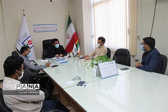 جلسه هماهنگی برگزاری دوره تربیت مربی نهج البلاغه در آموزش و پرورش استان بوشهر