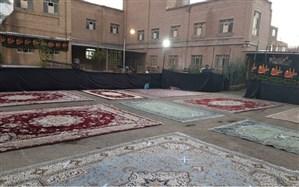 فضای روباز ۹۱ مدرسه استان البرز در اختیار هیئت های مذهبی قرار گرفت