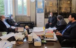 نشست مشترک انجمن مددکاری با رئیس اداره آموزش و پرورش استثنایی البرز