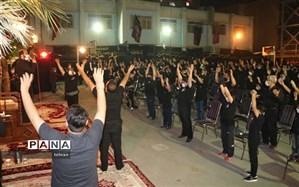 شور عزای حسینی با رعایت پروتکل های بهداشتی در منطقه 11