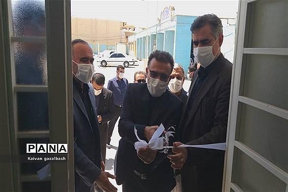 افتتاح چند پروژه آموزشگاهی در شهرستان امیدیه