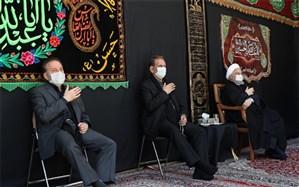 دومین روز از مراسم عزاداری سالار شهیدان با حضور دکتر روحانی