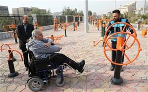 خدمات دهی ۹ مجموعه ورزشی ویژه جانبازان و معلولان در پایتخت