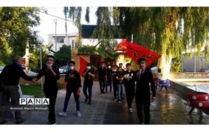 برگزاری مراسم  احلی من العسل و کاروان رهپویان  قاسم (ع)  در شهرستان کازرون