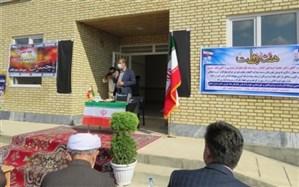 افتتاح دو مدرسه خیر ساز در شهرستان بوکان