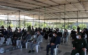 برگزاری آئین عطرافشانی و گلباران مزار شهدای آستان مقدس امامزاده عقیل (ع) اسلامشهر