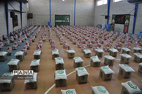 دومین مرحله از رزمایش کمک های مومنانه در شهرستان خوسف