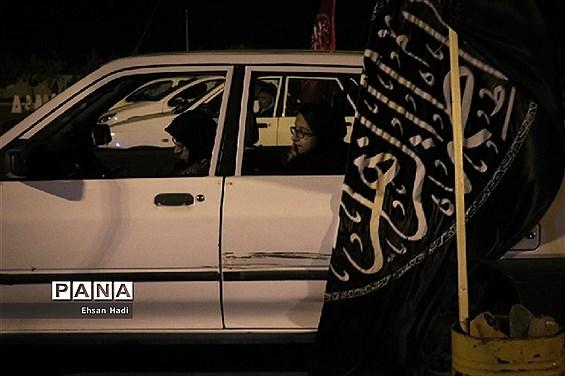 مراسم عزاداری در جمعه بازار خودرو مشهد