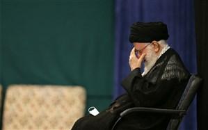 مراسم عزاداری شب تاسوعای حسینی با حضور رهبر انقلاببرگزار شد