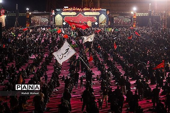 عزاداری شب تاسوعا حسینی در هئیت ریحانه الحسین