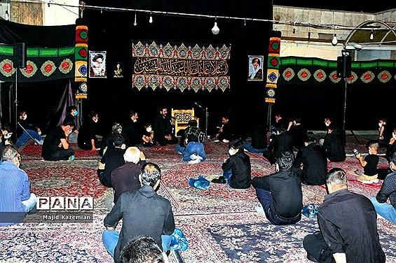 برگزاری مراسم سوگواری ایام محرم در سازمان دانش آموزی استان همدان