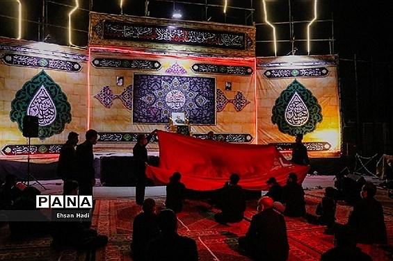 مراسم عزاداری شب تاسوعا در مشهد