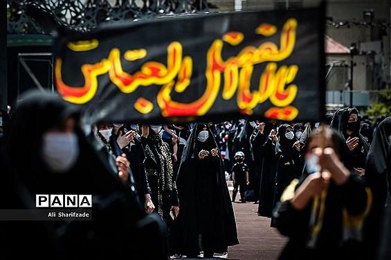 عزاداری تاسوعای حسینی در میدان امام حسین(ع)