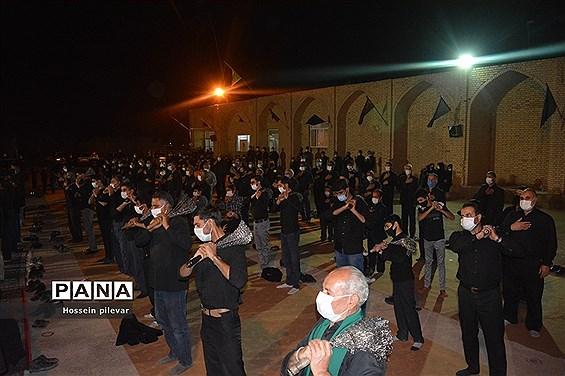 شب عاشورا در شهرستان خوسف