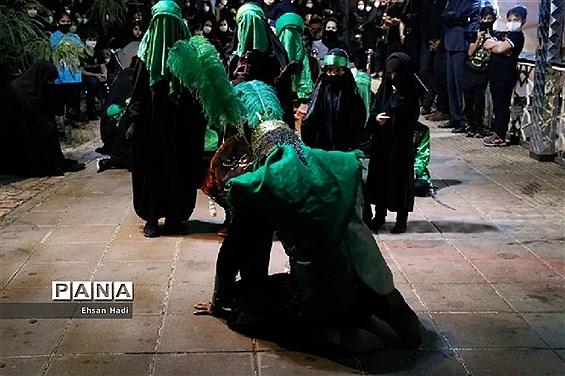 عزاداری شب عاشورا در مشهد